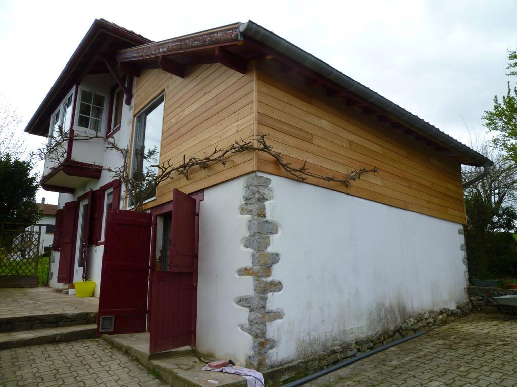 Vue d'ensemble façade Nord